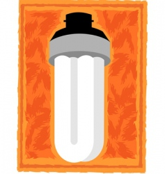 bulb vector image