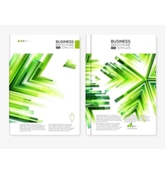 Business abstract brochure designs vector