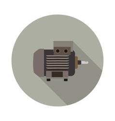 Flat icon motor vector