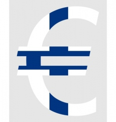 Finnish euro vector