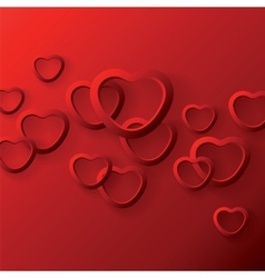 Background to the valentines day vector