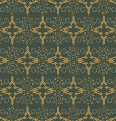 Curls abstract pattern vector image vector image
