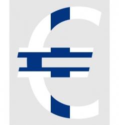 Finnish euro vector