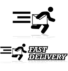 Mail service vector