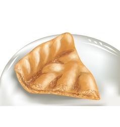 Apple pie vector