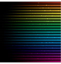 Abstract horizontal colorful rainbow vector image