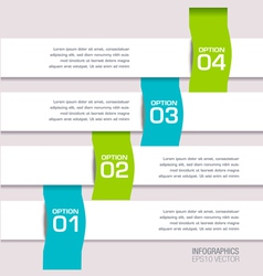 Modern colorful infographic vector