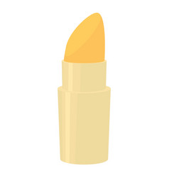 Lipstick icon cartoon style vector