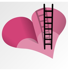 Love obstacle vector image