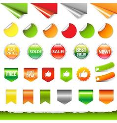Big Sale Label Set vector image vector image