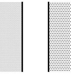 comic book pop art monochrome mock up vector image