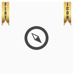 Compass icon vector