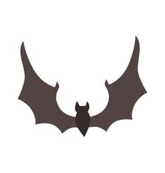 Cute Cartoon Halloween bat vector image