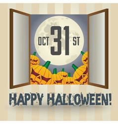 Happy halloween4 vector image