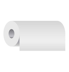 Blank household accessory soft absorbing cylinder vector