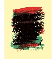 Painting brush strokes stain abstract background vector