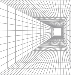 perspective vector image vector image