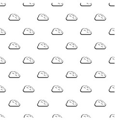 Storm cloud pattern vector