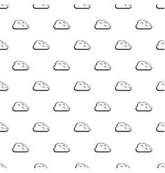 Storm cloud pattern vector
