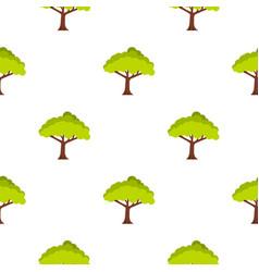 Tree pattern seamless vector