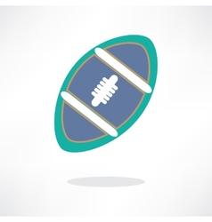 american football symbol eps 10 vector image vector image