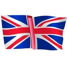 flag of United Kingdom vector image vector image