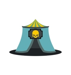 Haunted house icon vector