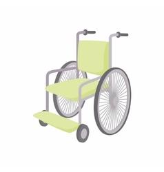 Wheelchair icon cartoon style vector image vector image