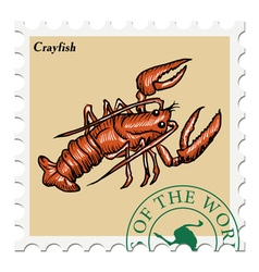 Crayfish vector