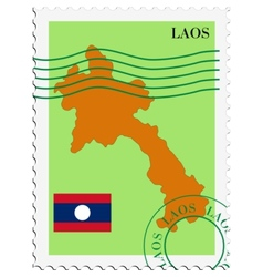 Mail to-from laos vector