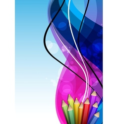 Abstract Cover Design vector image vector image