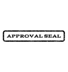 approval seal watermark stamp vector image