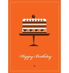 happy birthday card template vector image