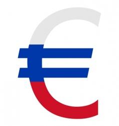 Slovakian euro vector