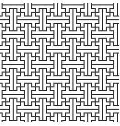 swastika ornament seamless pattern vector image