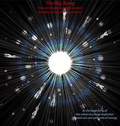 The big bang vector
