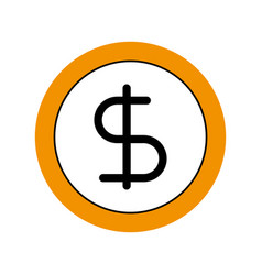 Business coin money currrency banking vector