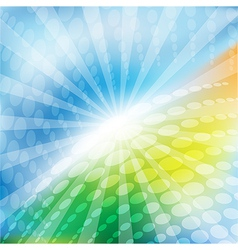 Bright abstract backgound vector image vector image