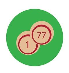 Lotto or bingo vector