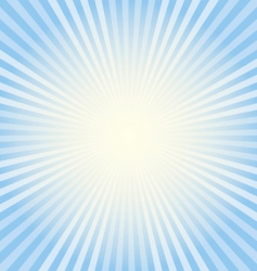 blue rays vector image