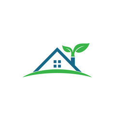 Home real estate logo design vector