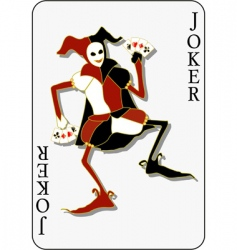 joker vector image