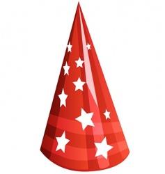 party cap vector image