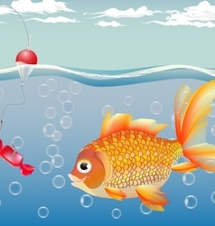 -goldfish for children - a joy for adults - the fu vector