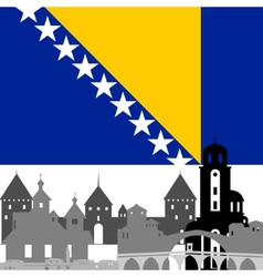Bosnia and herzegovina vector