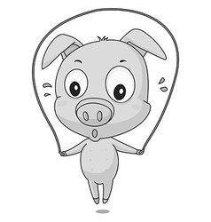 Pig exercise vector