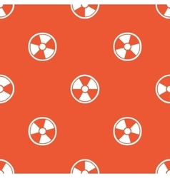 Orange hazard pattern vector