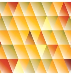 Abstract triangle autumn-colored background vector