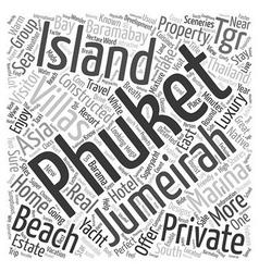 Memorable trip to jumeirah island a tropical vector