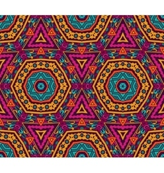 Abstract vibrant seamless pattern vector